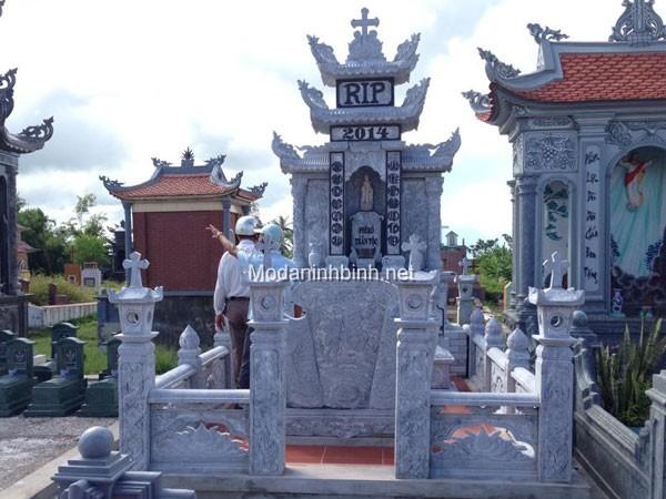 Lăng mộ đá đẹp NB 012