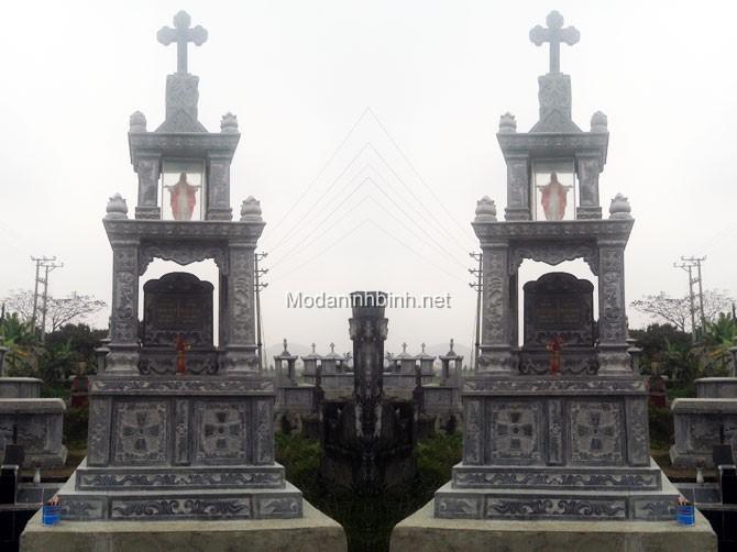 Mộ đá công giáo NB 005