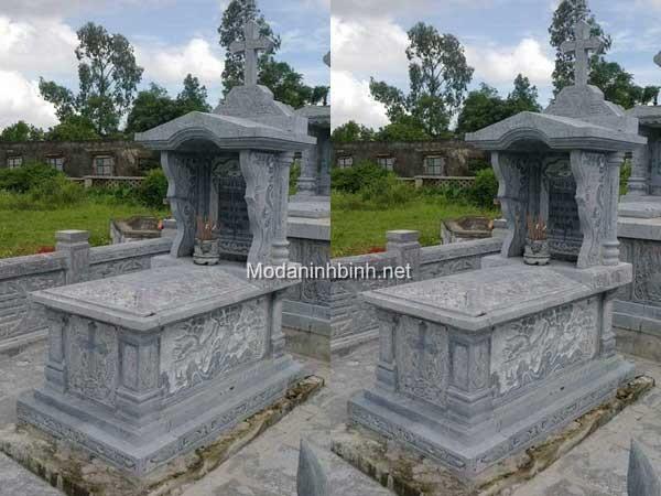 Mộ đá công giáo NB 012