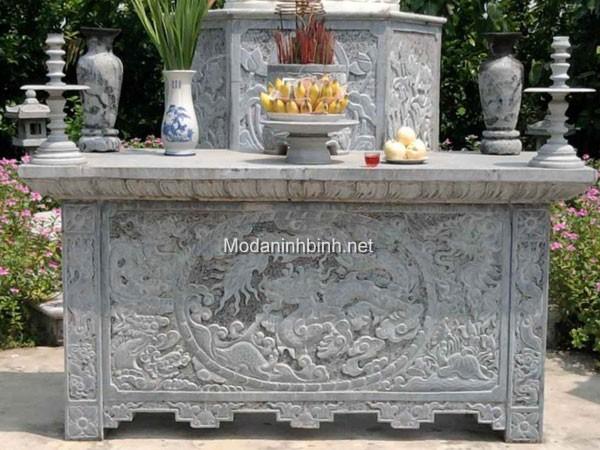 Mẫu bàn lễ bằng đá đẹp NB 008