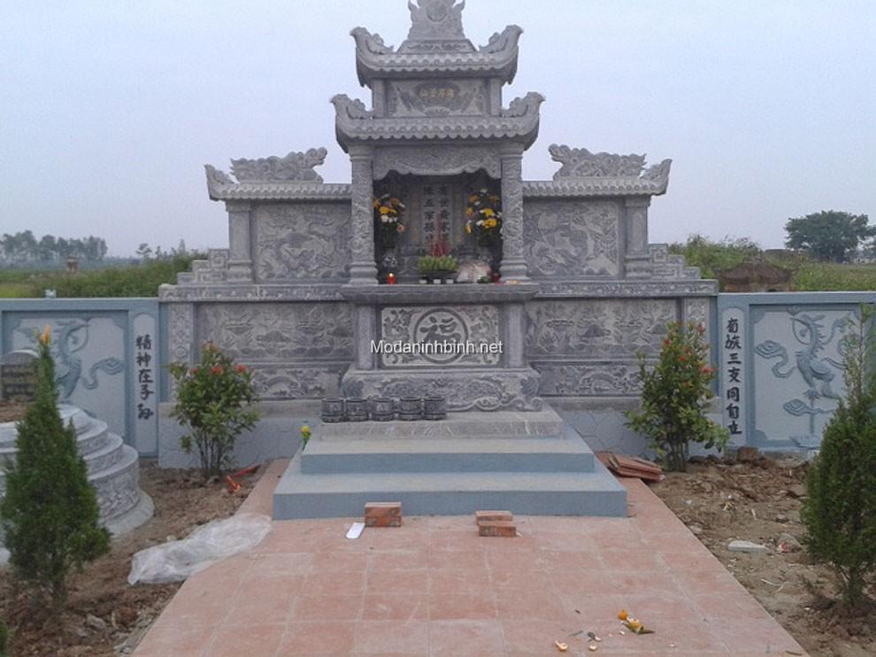 Lăng thờ đá NB 012