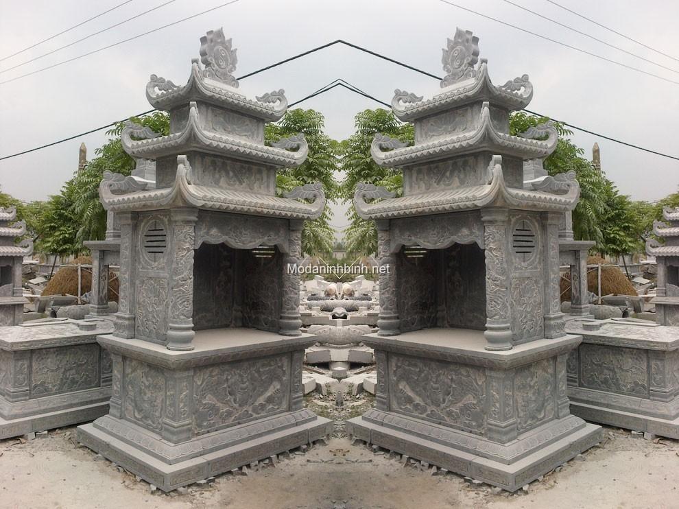 Lăng thờ đá NB 014