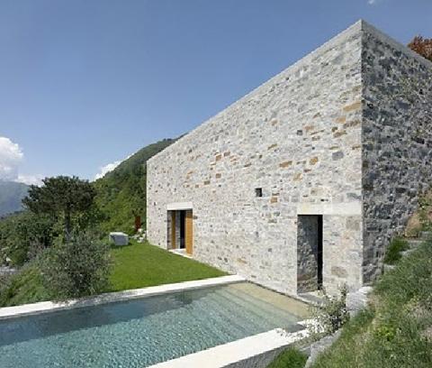 Thế giới có ngôi nhà bằng đá đẹp nhất