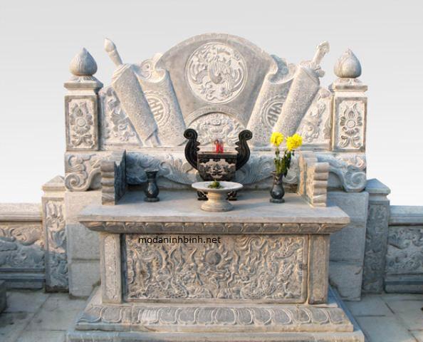 Mẫu bàn lễ bằng đá đẹp NB 019