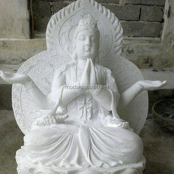 Tượng Phật Đá NB 010