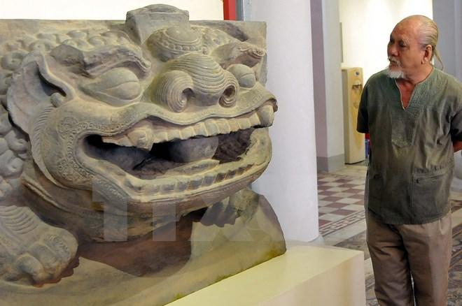 Năm 2015 vừa qua đã triển lãm Sư tử và Nghê cổ thuần Việt tại Thái Nguyên