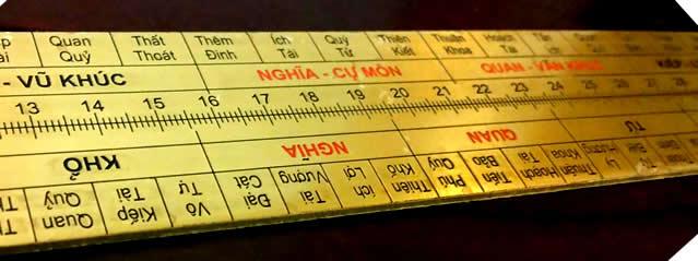 Tại sao lại dùng thước đo lỗ ban trong phong thủy